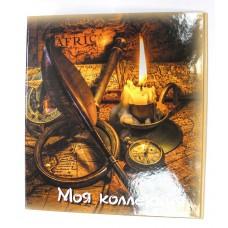 Альбом-корка  для монет и бонн