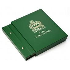 Коробка - шубер для альбома с монетами Германия. 25мм. цвет «Зелёный».