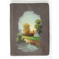 Альбом для открыток Севастополь 1910 с накладкой из серебра