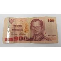Тайланд, 100 бат, ходячка.