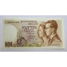 Бельгия, 50 франков, 1966г.