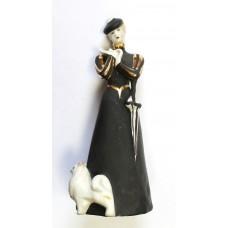 Дама с собачкой в чёрном, Дулёво 1999г.