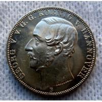 Германия, 1 талер, 1865г. Ганновер, 50 лет Ватерлоо, PRUF.