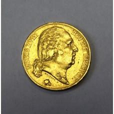 Франция, 20 франков 1819г.