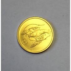 25 рублей, 2003г. РАК - Серия Зодиаки. Россия.