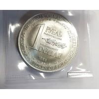 1 рубль = 1$ 1988г. РАЗОРУЖЕНИЕ + Сертификат
