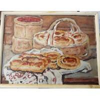 "Картина - "" Натюрморт "", Куликова А.А., 1998г. ( Россия )."