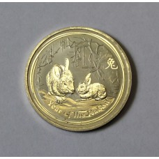 Австралия, 50 центов, 2011г. Год Кролика
