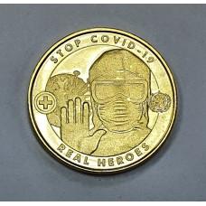 1 доллар Ангилья 2020 Коронавирус Stop Covid-19