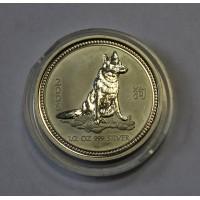 Австралия, 50 центов, 2006г. Год Собаки ПРУФ