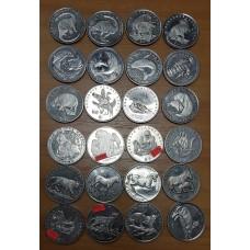 """Монеты иностранные Кроновые """"ШАЙБЫ"""" - крупный размер."""
