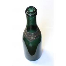 Бутылка Советское Шампанское 1956 года с наклейкой, СССР.