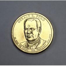 США, 1$, Президент №38 GERALD R. FORD, 2016г.