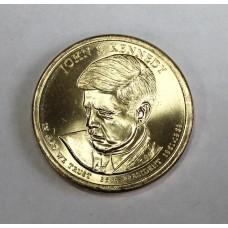США, 1$, Президент №35 JOHN F. KENNEDY, 2015г.