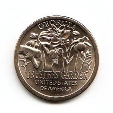 """США, 1$, Серия Инновации Америки, 2019г. №5 """"Попечительские сады"""""""