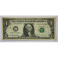 США, 1$, 1995г.