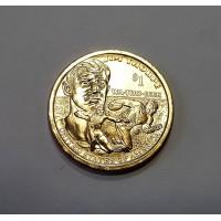 США, 1$, Серия Индейцы JIM THORPE , 2018г.
