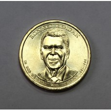 США, 1$, Президент №40 RONALD REAGAN, 2016г.