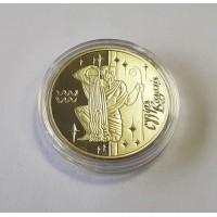 Украина 5 гривен 2007г. Водолей . Знаки Зодиака.
