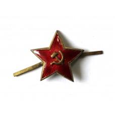 Звёзда РККФ с бескозырки, 1940-50-е гг., СССР