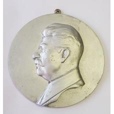 Барельеф 60 лет СТАЛИН 1939г. СССР Нювчимский завод - клеймо НЗ