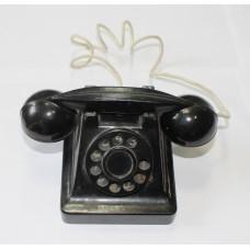 Игрушка - телефон детский - карболит 1940-50-60-х гг. СССР