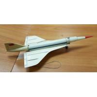 Игрушка - Самолёт Ту-144  1960-70-х гг. СССР