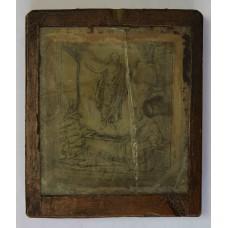 Икона - Воскресение Господние - Благословение Св.Афонской Пустыни, 1901г.