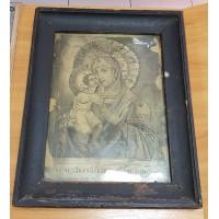 """Икона - """" Феодоровская Богородица """", начало XX века."""