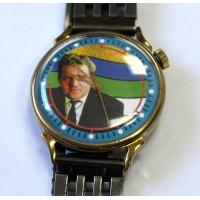 Часы наручные, ОТ ГЛАВЫ РЕСПУБЛИКИ КОМИ - Ю.А.СПИРИДОНОВ, 1995г.