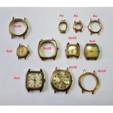 Часы мужские и женские Сделано в СССР Au позолота есть Au20
