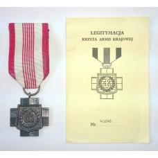 Крест армии Крайовы ( Польша )