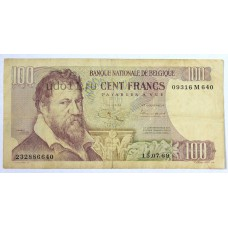 Бельгия, 100 франков, 1969г.