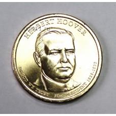 США, 1$, Президент №31 HERBERT HOOVER, 2014г.