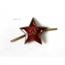 Звёзда ВМФ с бескозырки, 1950-60-е гг., СССР