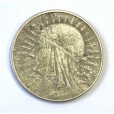 Польша, 10 злотых, 1932г.