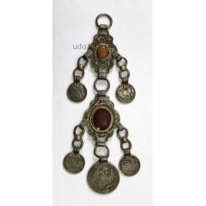 Женское украшение XIX века из монет, Казань