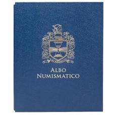 Коробка - шубер для альбома с монетами США. 20мм. цвет «Синий».