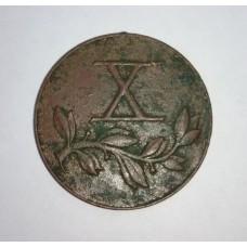 "Медаль "" Х - лет За долголетнюю службу "", 30-40-е гг. ( Панская Польша )."