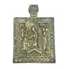 """Иконка - """" Воскресение Христово """", XVIII в."""