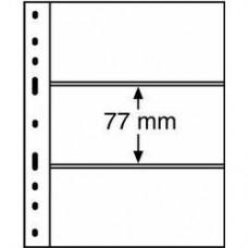 Листы для банкнот Optima 3C (прозрачные)