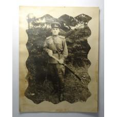Ефрейтор Стрелок ВВ НКВД  с шашкой, 1946г. РККА