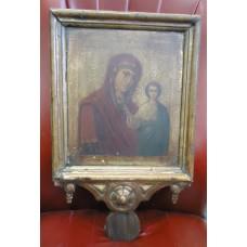 Икона - Богородица, ВЫНОСНАЯ, XIX в.