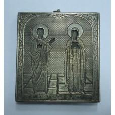 """Икона - """"Святые праведные Иоаким и Анна"""", 1879г. Москва"""