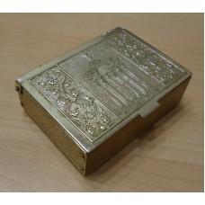 Коробка для папирос, шкатулка ВДНХ, 60-е гг. СССР