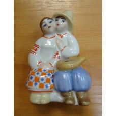 Влюблённая пара, Киев