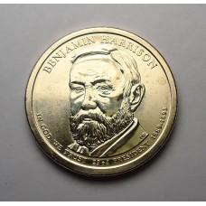 США, 1$, Президент №23 BENJAMIN HARRISON, 2012г.