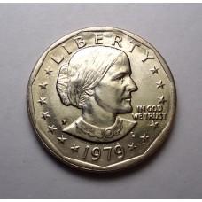 """США, 1$, 1979г. """"Р"""""""