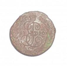 2 копейки, 1790г., ЕМ, Россия