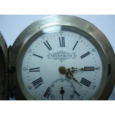 """Часы карманные """"ТЕЛЕФОН"""", конец XIX в."""